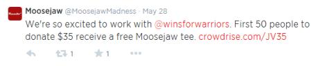 moosejaw push pull twitter
