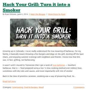 whole story hack your grill
