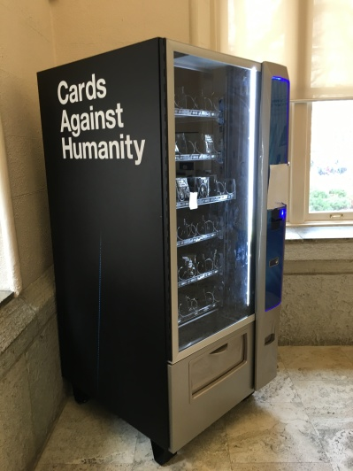 Cards Against Humanity Vending Machine